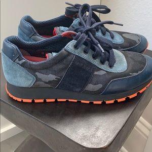 Authentic Prada Tennis Shoes size 37 worn 2 times